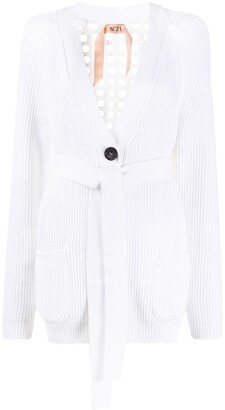 No.21 Elongated Belted Cardigan
