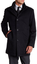 Ike Behar Wheldon Stand-Up Coat