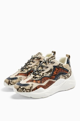 Topshop Womens Cancun Chunky Trainers - Multi