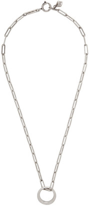 Isabel Marant Silver Ring Necklace