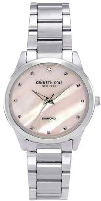 Kenneth Cole New York Women's Classic Silver Watch, 34mm