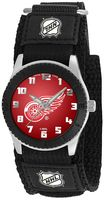 Game Time Rookie Series Detroit Red Wings Silver Tone Watch - NHL-ROB-DET - Kids
