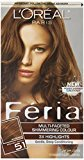 L'Oreal FÃria Muti-Faceted Shimmering Colour - 51 Bronzed Brown (Warmer) 1 EA - Buy Packs and SAVE (Pack of 3)