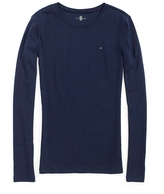 Tommy Hilfiger Long Sleeve Favorite Crew Neck Tee