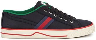 Gucci Tennis 1977 black canvas sneakers