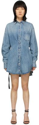Unravel Blue Denim Shirt Dress