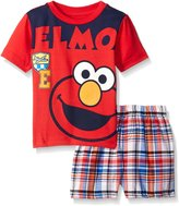 Sesame Street Sesame St Baby Boys' 2pc Top and Short Set