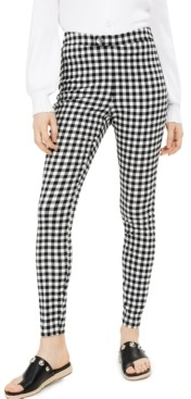 INC International Concepts Inc Gingham Suit Pants, Created for Macy's