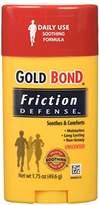 Gold Bond Friction Defense Stick Unscented 1.75 oz ( Pack of 6)