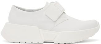 MM6 MAISON MARGIELA White Slip-On Chunky Sole Sneakers