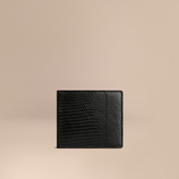 Burberry Lizard Folding Wallet