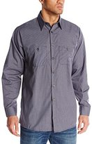 R&K Red Kap Men's RK Micro Check Uniform Shirt