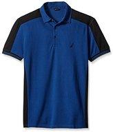 Nautica Men's Slim Fit Pieced Polo Shirt