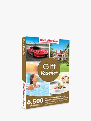 Red Letter Days 100 Gift Experience Voucher