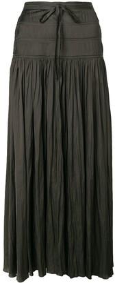 Ulla Johnson High Waisted Pleated Skirt