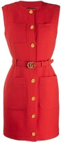 Gucci belted dress