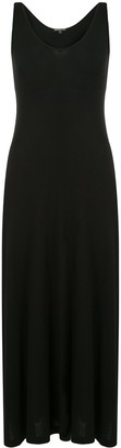 James Perse Ribbed Knit Midi Dress