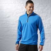 Reebok Workout Ready Two-Tone Quarter Zip Jacket