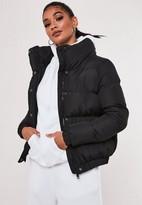 Missguided Black Padded Jacket