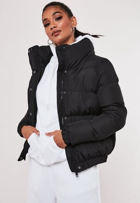 Missguided Black Padded Jacket