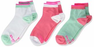 Skechers Socks Girl's Sk42007 Ankle Socks