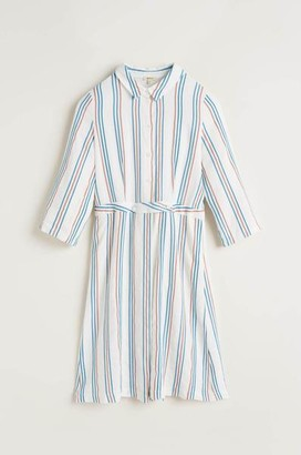 Bellerose Lateef Dress In Ember Stripe A - M