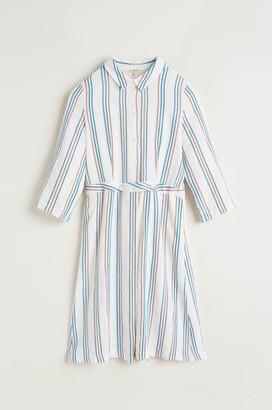 Bellerose Lateef Dress In Ember Stripe A - XS