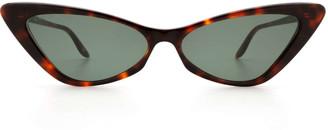 Gucci Gg0708s Havana Sunglasses