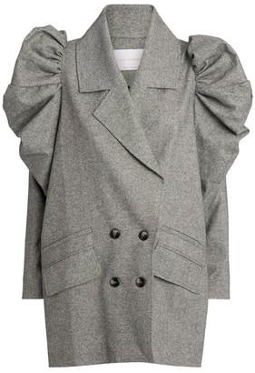 Kika Vargas Double-Breasted Jacket
