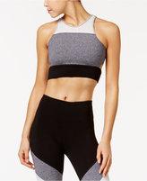 Calvin Klein Coloblocked Low-Impact Longline Sports Bra