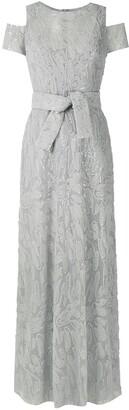 Gloria Coelho Textured Gown