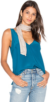 Amanda Uprichard Vita Tank in Teal