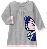Gymboree Butterfly Sweater Dress