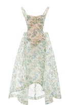 Zac Posen Embroidered Guipure Gown