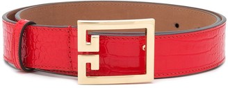 Givenchy G buckle belt