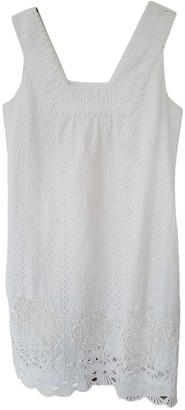 Calypso St. Barth White Cotton Dress for Women