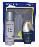 Giorgio Valenti Rose Noire for Men Gift Set (Eau De Toilette Spray, Deodorant Stick )