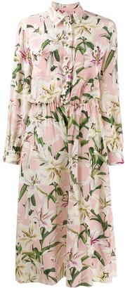 Dolce & Gabbana Lily Print Jumpsuit