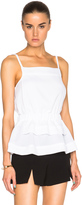 Carven Peplum Tank Top