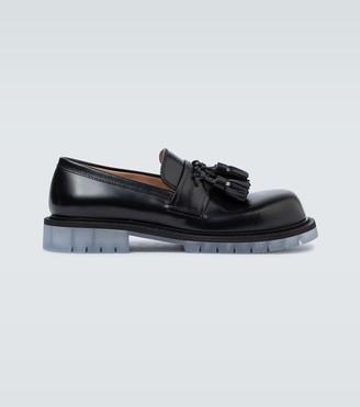 Bottega Veneta Tassel leather loafers