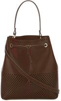 Furla Stacy laser cut bucket tote - women - Leather - One Size