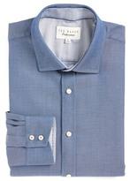 Ted Baker Cam Solid Trim Fit Dress Shirt