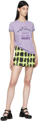Marc Jacobs Purple Peanuts Edition 'Rest Of My Life' T-Shirt