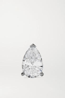 Maria Tash 18-karat White Gold Diamond Earring
