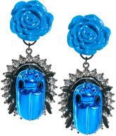 Asos Rose Beetle Earrings