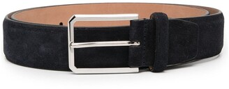 Santoni Suede Leather Belt