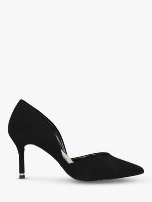 Carvela Lady Cut Out Stiletto Heel Court Shoes