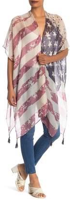 Steve Madden Stars and Stripes Kimono