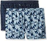Tommy Bahama Men's Forever Fronds 2 Pack Woven Boxer Set