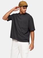 TopmanTopman Grey Boxy T-Shirt